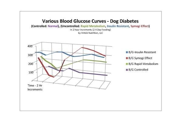 Glucose Curve dog diabetes