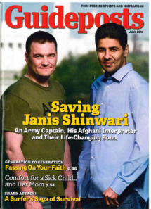 Guideposts Magazine, July 2014 - Saving Vinny.  Diabetic Dog treatment
